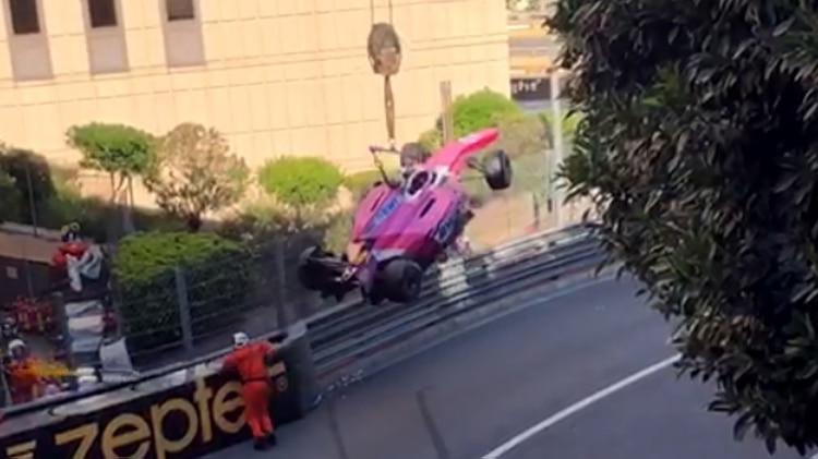 Tatiana Calderón chocó con el hijo de Michael Schumacher en la final de Fórmula 2 | Internacional | Deportes | EL FRENTE