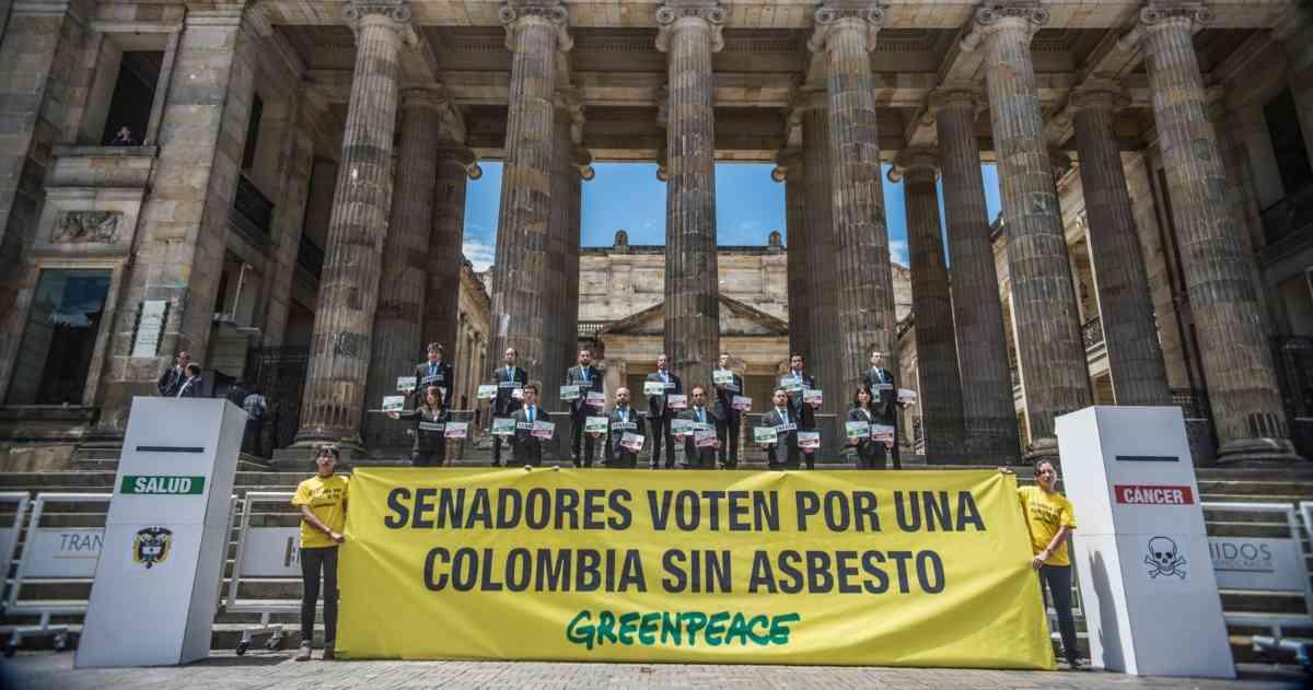 Asbesto se podría utilizar hasta 2021 en Colombia  | EL FRENTE