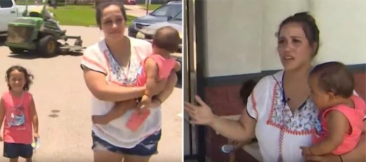 Mamá fue sacada de un parque acuático por amamantar a su bebé en público | EL FRENTE