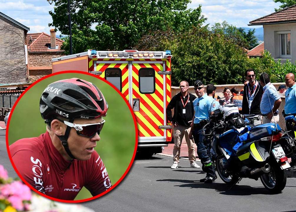 Chris Froome dice adiós al Tour por fractura de fémur  | EL FRENTE