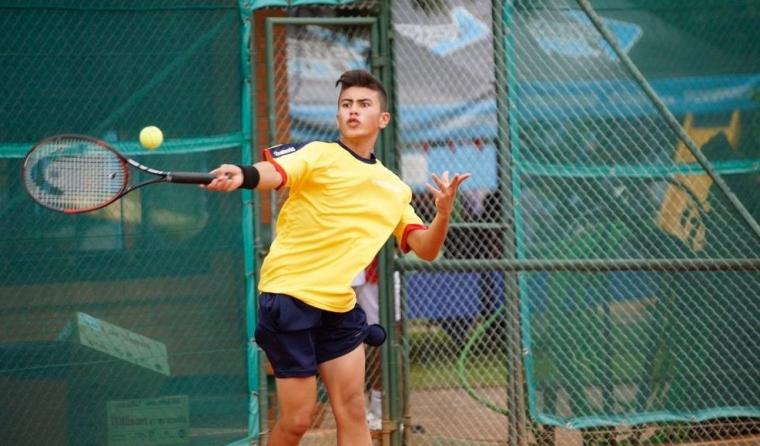 El tenista Colombiano Mateo Gómez le apunta a otro título en el Circuito Mundial Juvenil | EL FRENTE