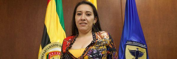 Directora asistencial de Higuera Escalante. Sello de calidad con Bacterióloga UDES   EL FRENTE