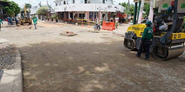 Infraestructura del municipio con grandes obras. En marcha plan de mejoramiento de la malla vial | EL FRENTE