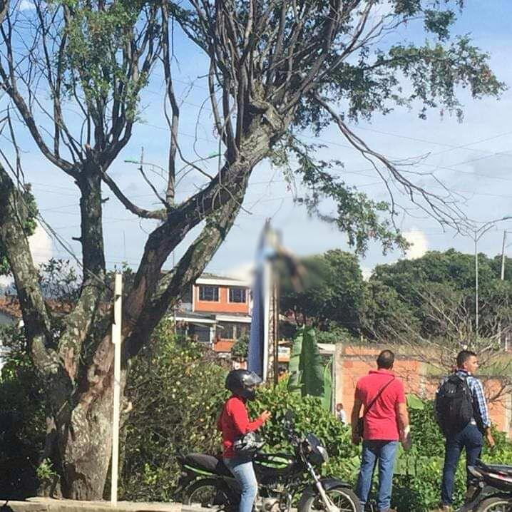Hombre se electrocutó en Piedecuesta | EL FRENTE