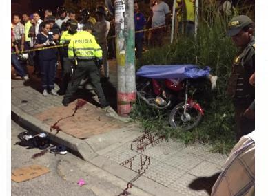 Motociclista fallece por accidente en Piedecuesta | EL FRENTE