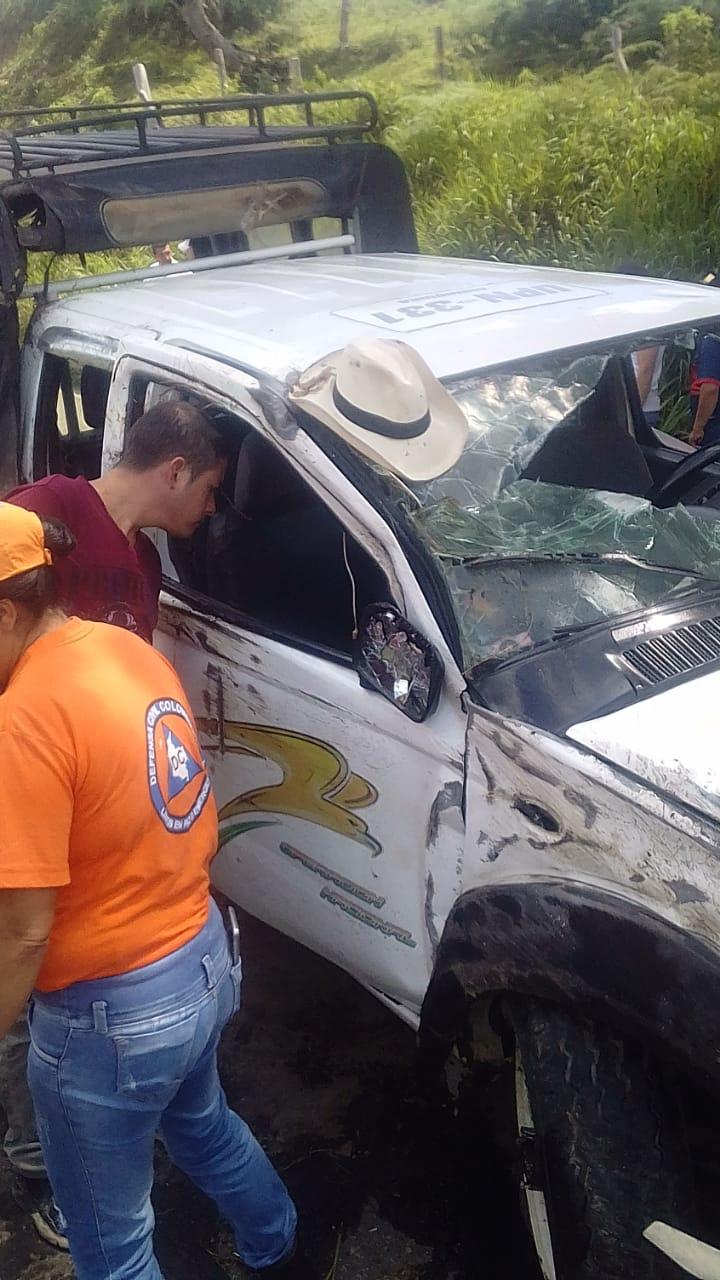 17 personas heridas dejó accidente en Suaita, Santander | EL FRENTE
