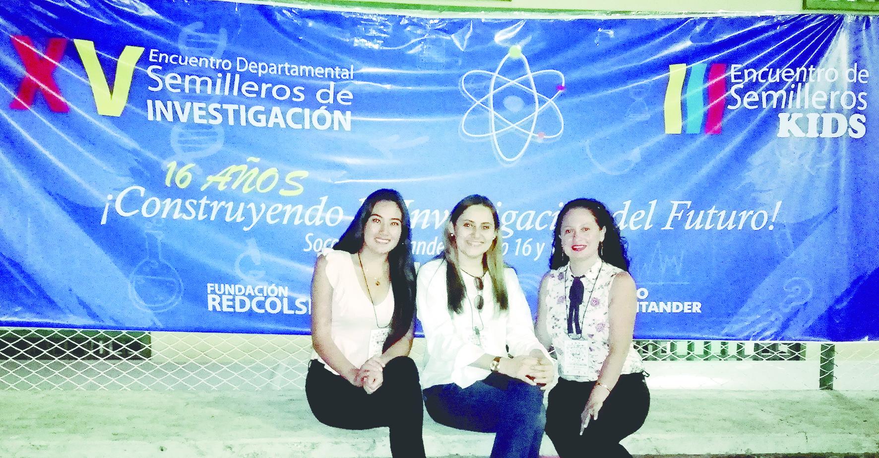 CORPOCIDES en el XV Encuentro Nacional de Semilleros | foto | EL FRENTE