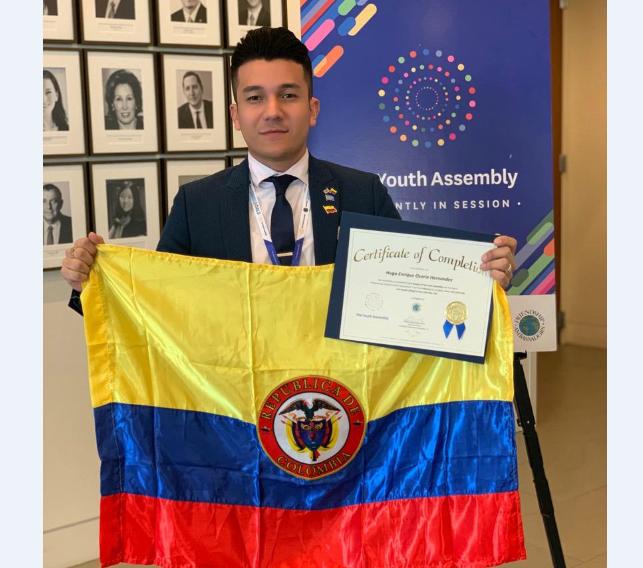 Hugo Osorio: Representante de los jóvenes de Colombia y el mundo | EL FRENTE