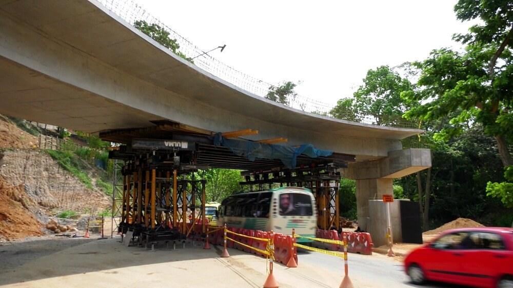 Hoy habrá cierre total en el intercambiador de Fátima   Floridablanca   Metro   EL FRENTE