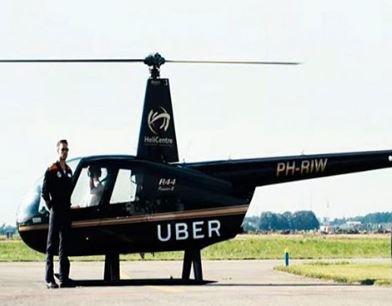Uber estrenó servicio de helicoptéro en New York   EL FRENTE