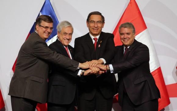 Reunión de la Alianza del Pacífico. Compromiso para facilitar trámites para las mipymes   EL FRENTE