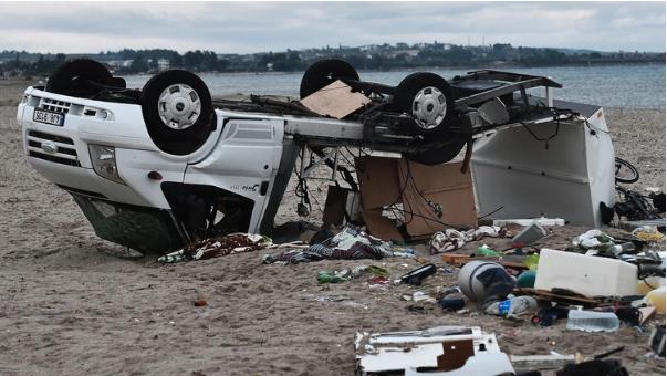 Siete muertos y al menos 23 heridos por tornado en Grecia | EL FRENTE