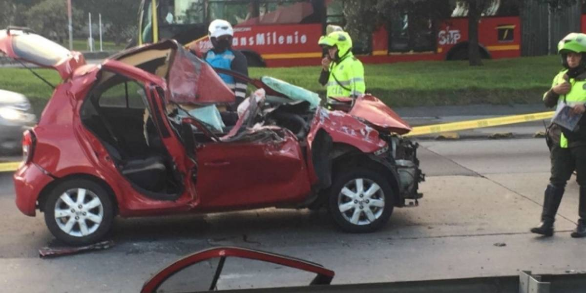 Grave accidente dejó universitario muerto en Bogotá  | Nacional | Justicia | EL FRENTE