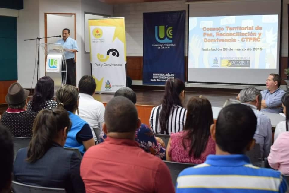Sesión especial. Consejo Territorial de Paz, Reconciliación y  Convivencia | Municipios | Santander | EL FRENTE