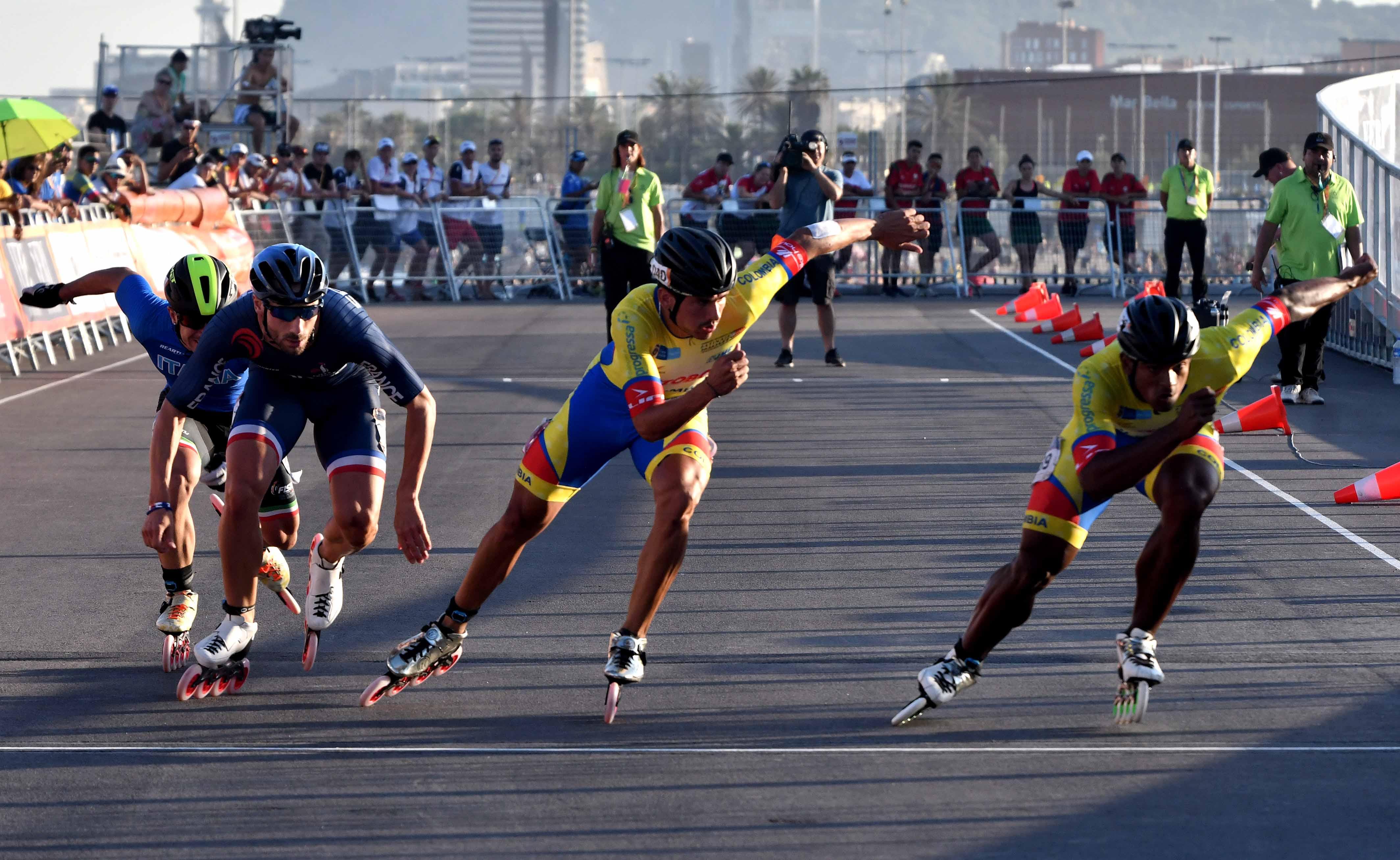 Colombia sumó otras cuatro medallas World Roller Games | EL FRENTE