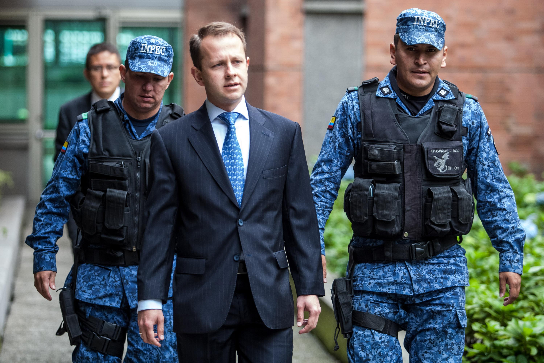 Ordenan el traslado del ex ministro colombiano Andrés Felipe Arias a la cárcel La Picota en Bogotá | Nacional | Colombia | EL FRENTE