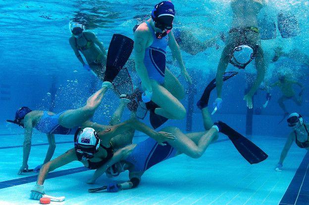 Deportistas colombianos buscan recursos para participar en el Mundial de Hockey subacuático | EL FRENTE