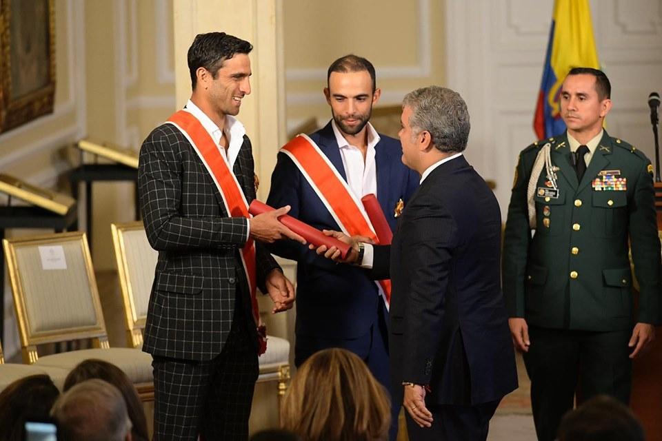 Cabal y Farah recibieron Orden Nacional al Mérito | Nacional | Deportes | EL FRENTE