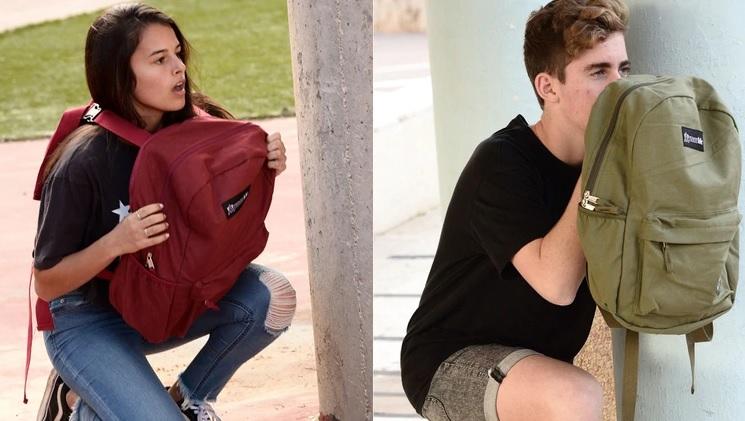Se triplican las ventas de mochilas anitibalas tras los tiroteos en El Paso y Dayton, Estados Unidos | EL FRENTE