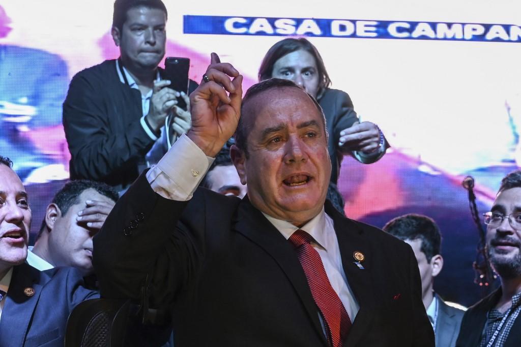 Alejandro Giammattei electo nuevo presidente de Guatemala   EL FRENTE