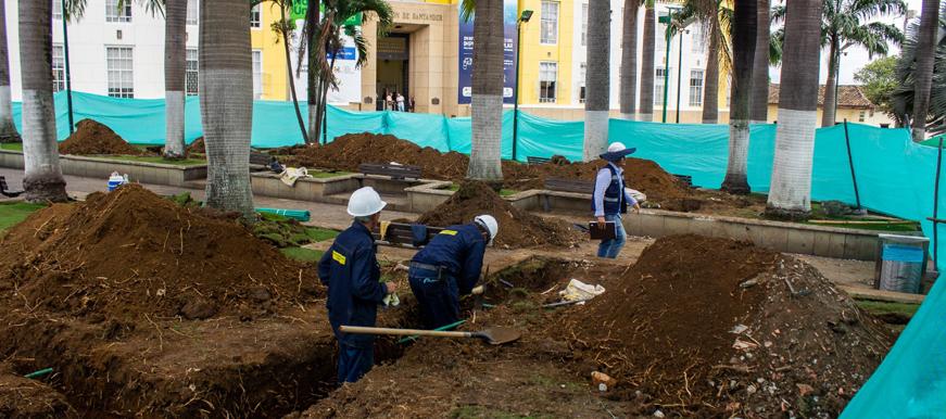 Inician obras para modernizar el Centro Institucional de Bucaramanga | EL FRENTE