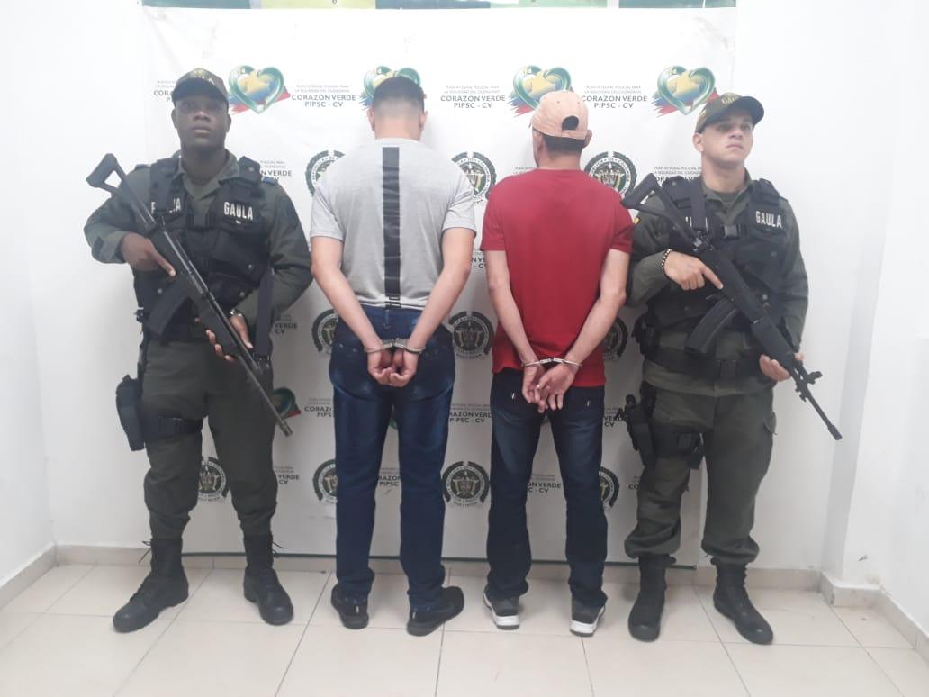 Dos integrantes del Clan del Golfo fueron capturados por extorsión | EL FRENTE