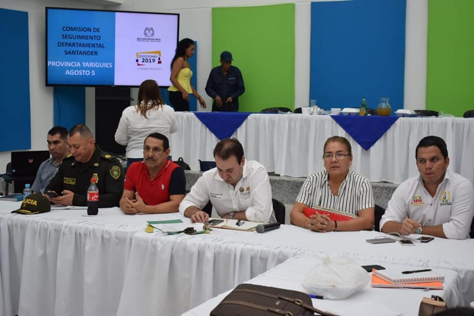 Seguimiento electoral. Realizado comité de garantías para la Provincia Yariguies | EL FRENTE