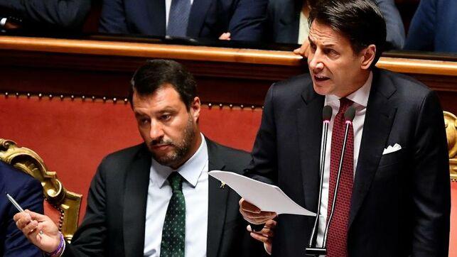 Giuseppe Conte primer ministro italiano renuncia a su cargo | foto | EL FRENTE