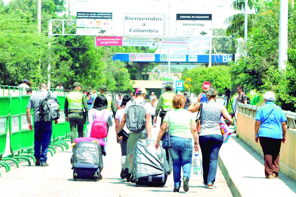 Panorama de la migración en Colombia. ¡Con patria y sin poder vivir en ella!   Especiales   Variedades   EL FRENTE