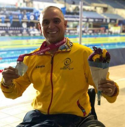 Santandereano ganó primera medalla en el mundial de natación paralímpica de Londres   Local   Deportes   EL FRENTE
