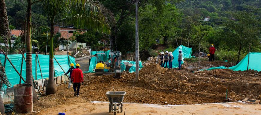 En un 20% avanzan las obras del Parque Lineal del Río Suratá en Bucaramanga | EL FRENTE