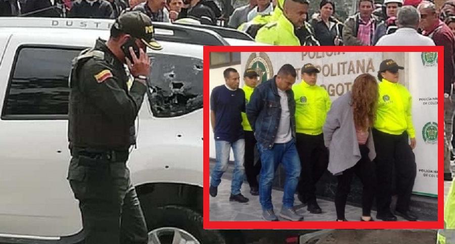 Capturan a implicados en la muerte de un policía    EL FRENTE
