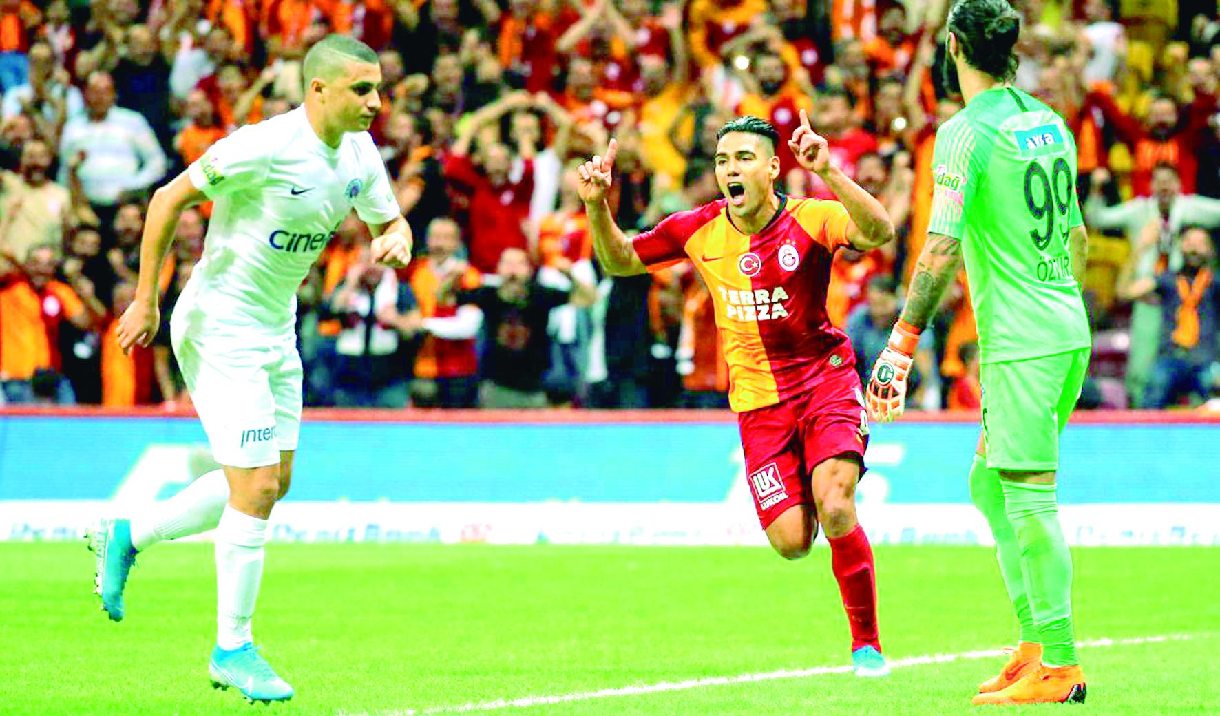 Gol de Falcao en su debut con el Galatasaray   Nacional   Deportes   EL FRENTE