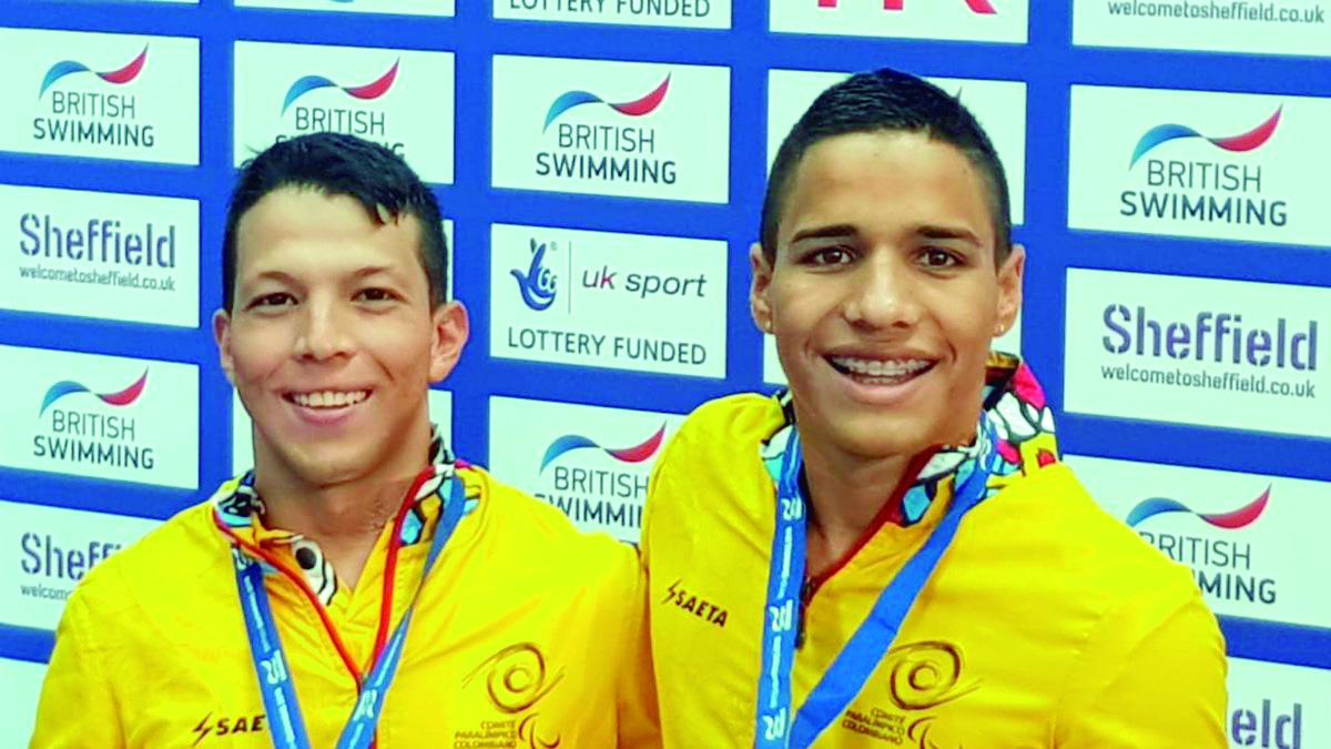 Crispín y Serrano siguen bañándose en oro    Local   Deportes   EL FRENTE