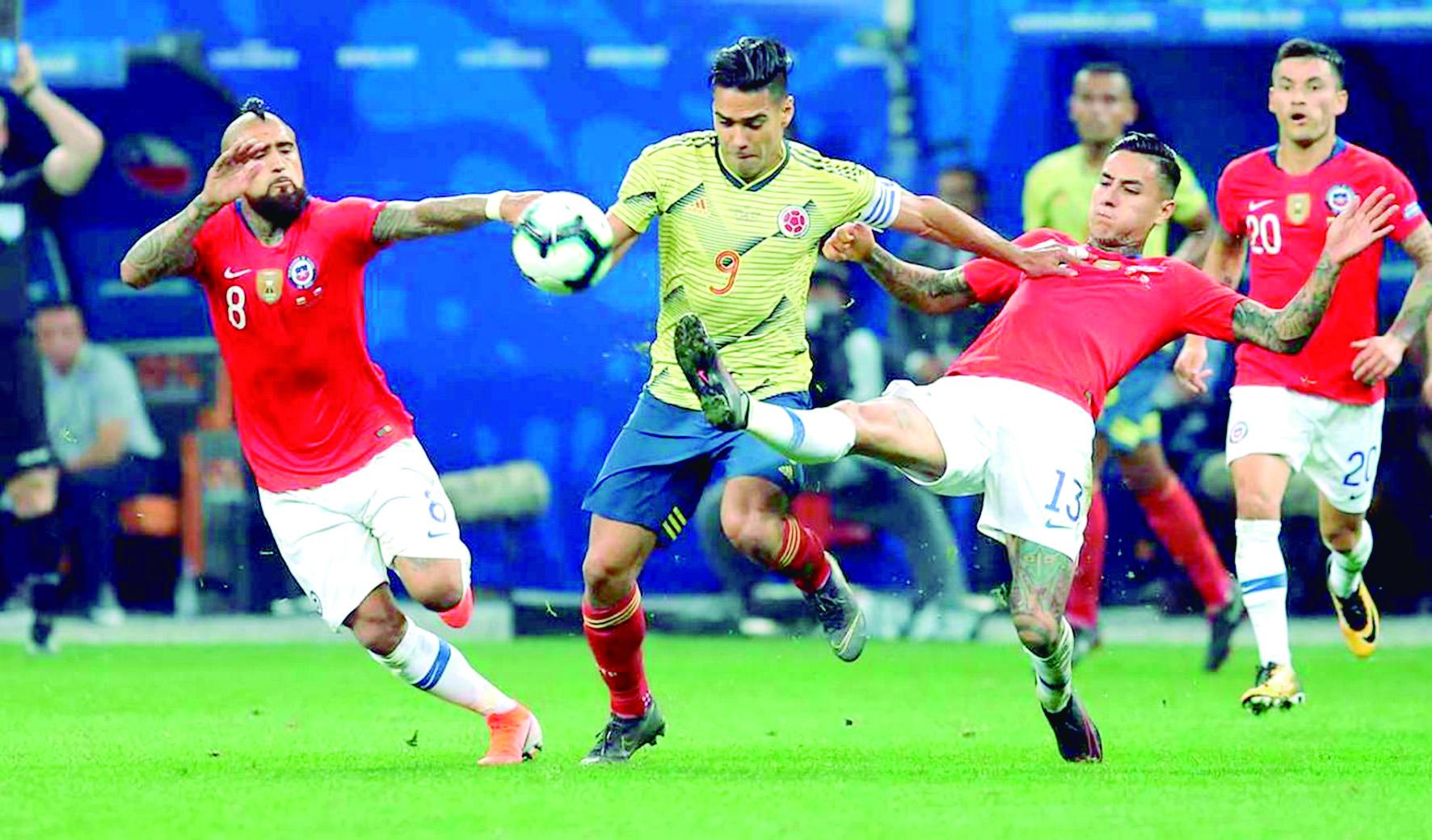 Próxima fecha FIFA. Colombia ante Chile y Argelia en Europa    Nacional   Deportes   EL FRENTE