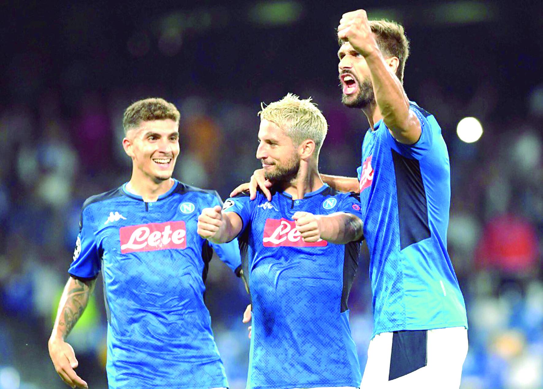 Napoli derrotó a Liverpool en comienzo de Champions | Deportes | EL FRENTE