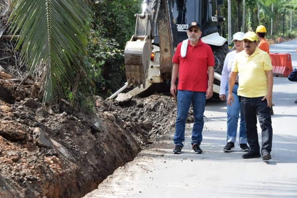 Obras en la llamada Puerta del 11- Campo 5. La pavimentación será entregada en noviembre   Municipios   Santander   EL FRENTE