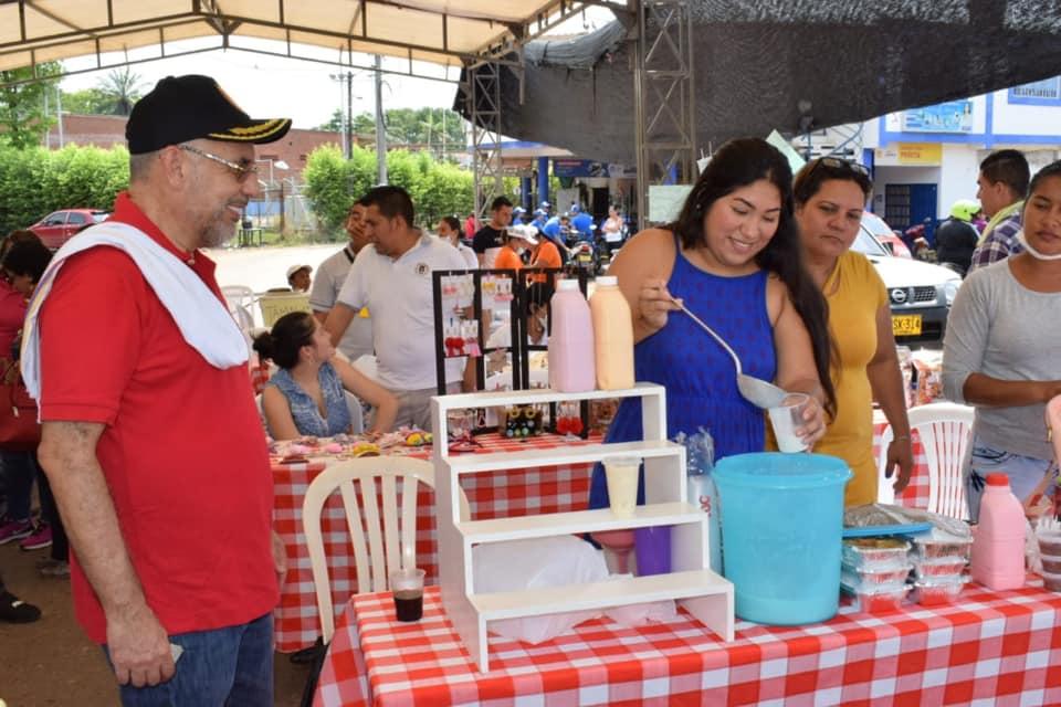 Mercado Campesino. Gran trabajo de productores el corregimiento El Centro de Barrancabermeja    Municipios   Santander   EL FRENTE