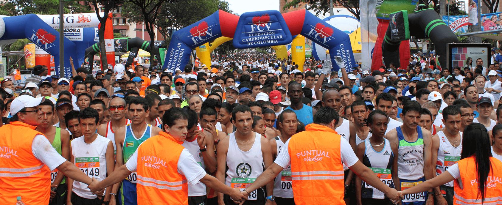 Segunda Media Maratón de Bucaramanga FCV  | Deportes | EL FRENTE