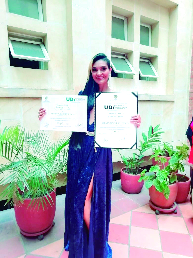 Grado Profesional Geilar Vanessa Murcia Fuentes | EL FRENTE