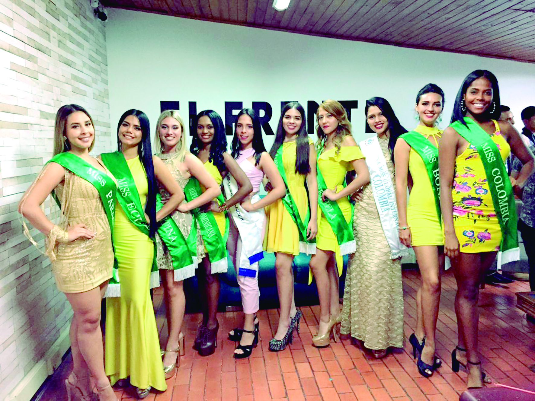 Miss Turismo Mundial y Míster Turismo Latino 2019 | EL FRENTE