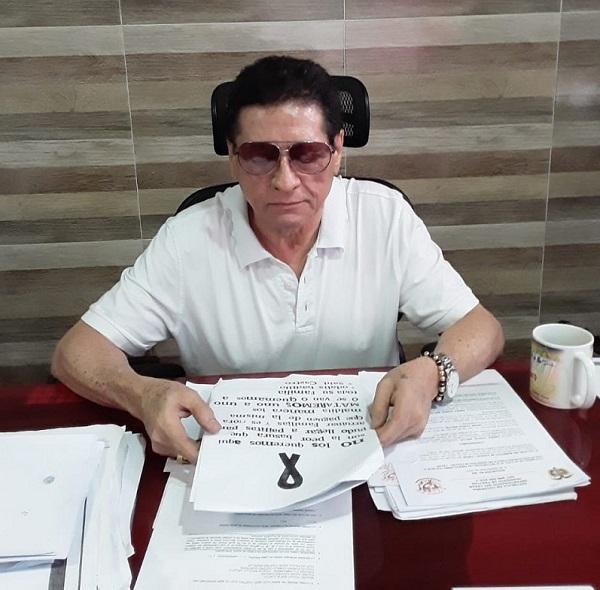 Alcalde de Pailitas es amanezado mediante panfleto   EL FRENTE