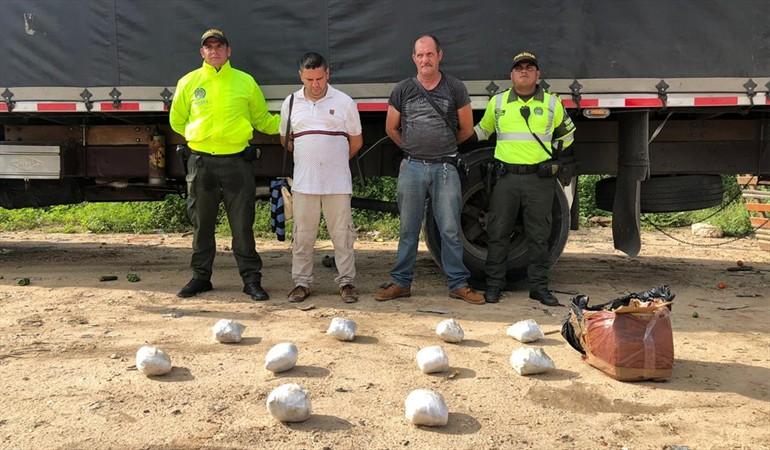 Incautadas más de 10 kilos de cocaina que transportaba alimentos en Norte de Santander   EL FRENTE