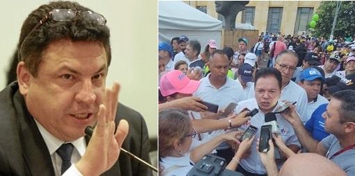 """""""Gaviria y Pinto son autores de la conspiración en mi contra"""": Anaya. Pinto se defiende.   EL FRENTE"""