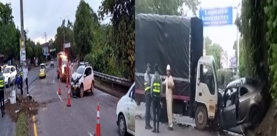 Dos accidentes en el mismo lugar con pocas horas de diferencia | EL FRENTE