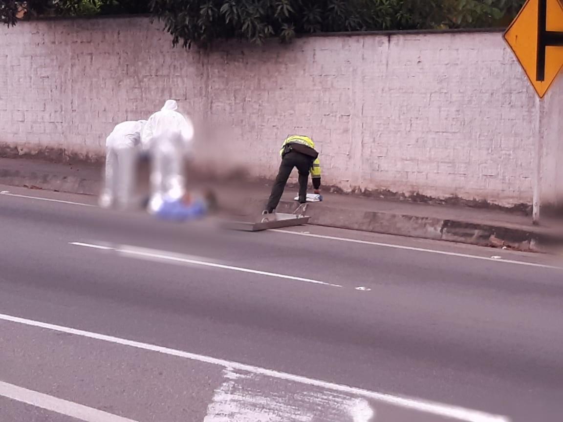 Peatón murió en accidente en retorno de Platacero   EL FRENTE