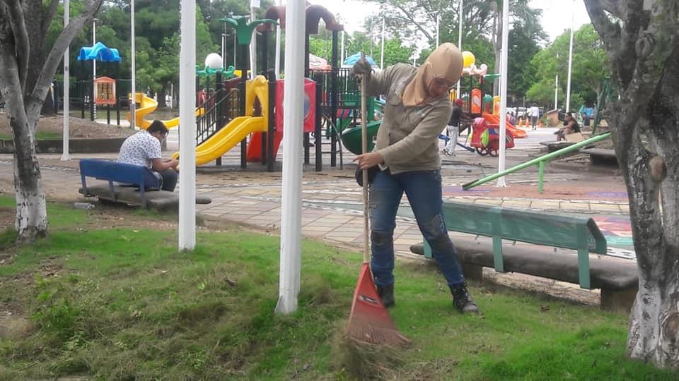 BREVES PORTEÑAS: Parque a la Vida limpio y en armonía   Local   Economía   EL FRENTE
