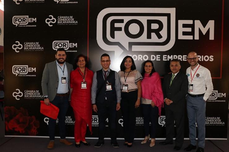 Evento en Cenfer, Bucaramanga. Tomasinos presentes en el Foro de Empresarios - FOREM 2019    Local   Economía   EL FRENTE