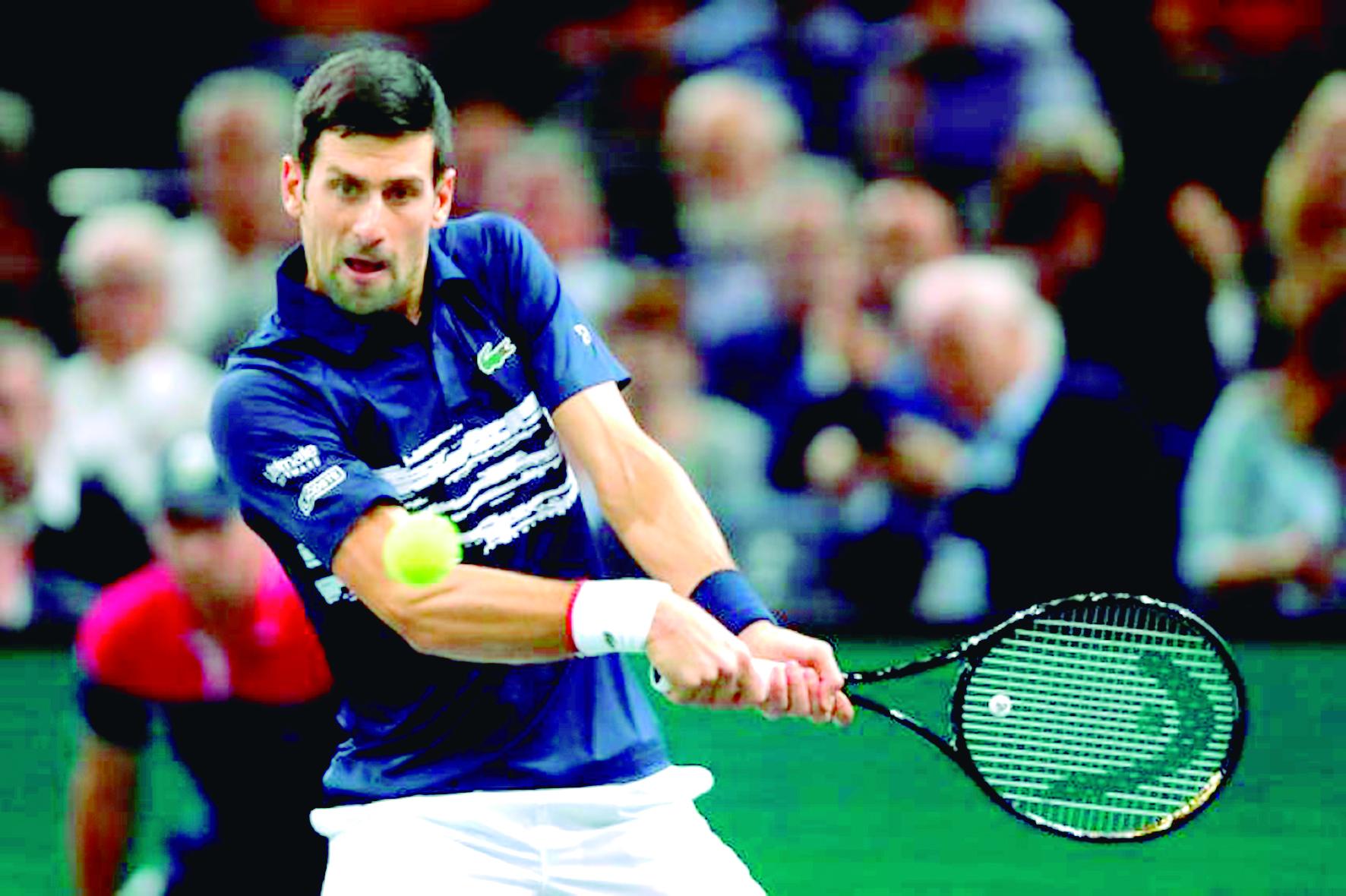 Djokovic – Shapovalov la final del Masters de París | Internacional | Deportes | EL FRENTE