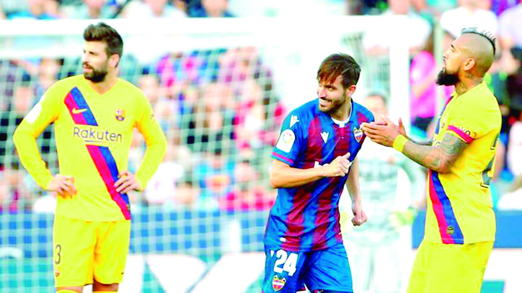Un desconocido Barcelona perdió 3-1 ante Levante  | Internacional | Deportes | EL FRENTE
